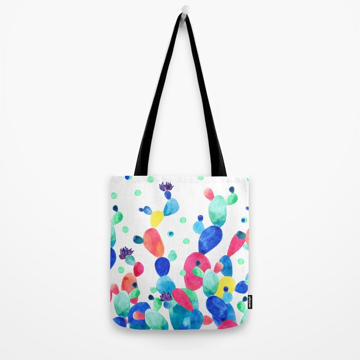 Cacti Confetti Tote Bag