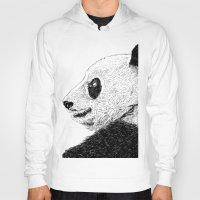 pandas Hoodies featuring pandas by barmalisiRTB