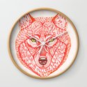 Red wolf by olaliola