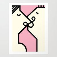 Ampersand Connection Art Print