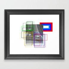 The Racing Line Framed Art Print