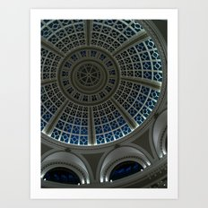 oculus to the night Art Print