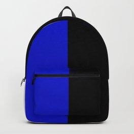 Team Colors 7....Blue,black,white Backpack