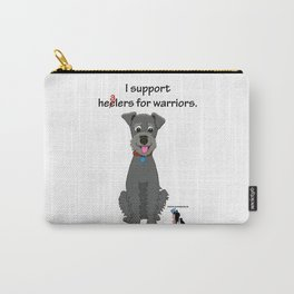Schnoodle Supporting Healers Carry-All Pouch