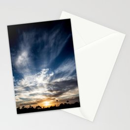 Sunset Flurry Stationery Cards