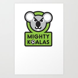 MIGHTY KOALAS T-shirt Art Print