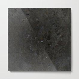 Concrete 01 BLACK Metal Print