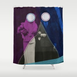 What Goes Around... Shower Curtain