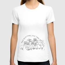 Otters tribe T-shirt