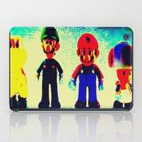 mario bros iPad Cases featuring Super Mario Bros. by Silvio Ledbetter