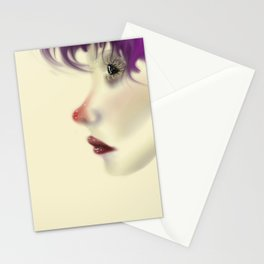 Colored Contemplation Stationery Cards