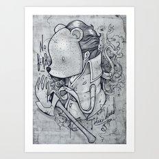No bear Art Print