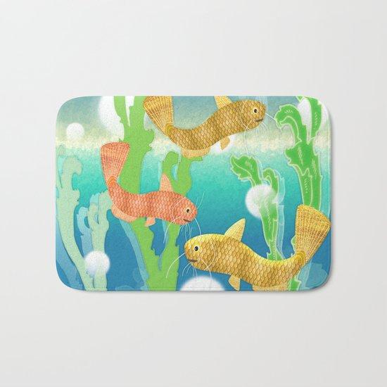 Toy Catfish Under the Sea Bath Mat