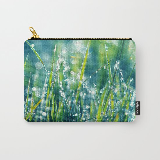 Morning Diamonds Carry-All Pouch