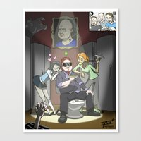 "inside gaming Canvas Prints featuring ""The Tunt Life"" Inside Gaming Mini-Poster by isayon85"