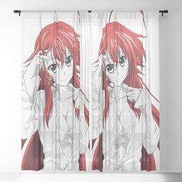 Rias Gremory Sheer Curtain