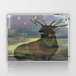 """White Tail Deer"" Laptop & iPad Skin"