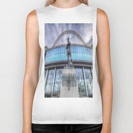 Booby Moore Statue Wembley Stadium Biker Tank