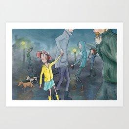 Children's Illustration Art Print