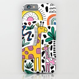 Safari Animals iPhone Case