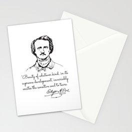 Edgar Allan Poe Vintage Stationery Cards