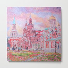 The Cathedral of Kazan Mother of God on Red Square Metal Print