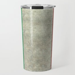 Italian flag, vintage retro style Travel Mug