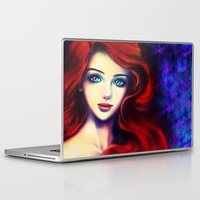ariel Laptop & iPad Skins featuring Ariel by Amanda Lee