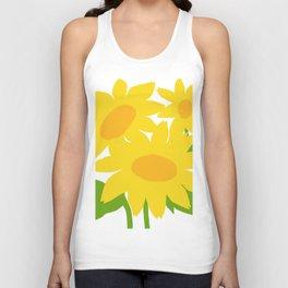 Yellow Green Good Cheer Unisex Tank Top