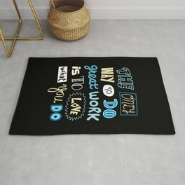 The Only Way Rug