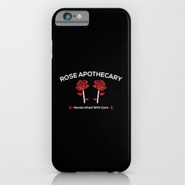 Rose Apothecary iPhone Case
