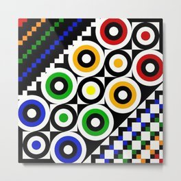 Forever Colorful Metal Print