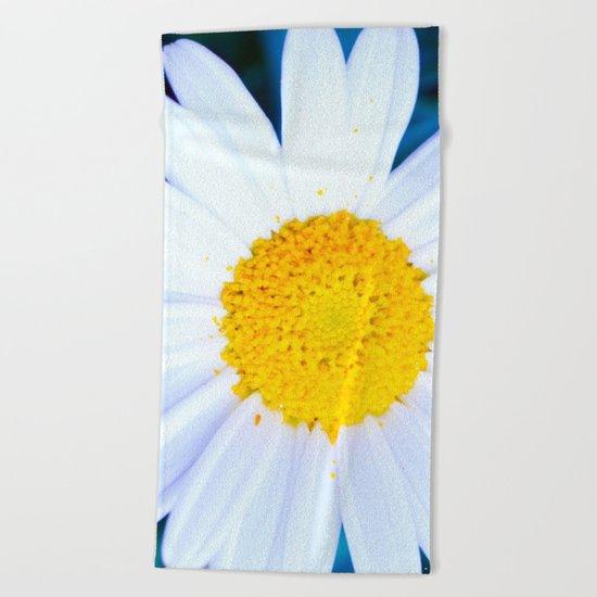 SMILE - Daisy Flower #2 Beach Towel