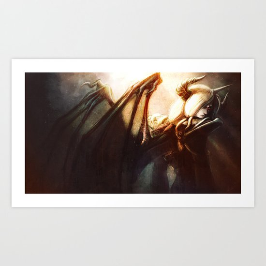 Great Demon King Art Print