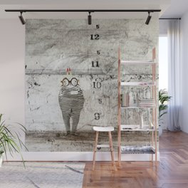 Jail time Wall Mural