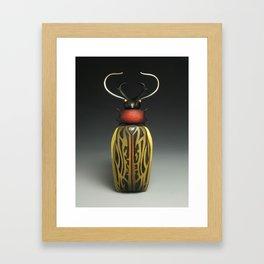 Macrodontia Box II Framed Art Print