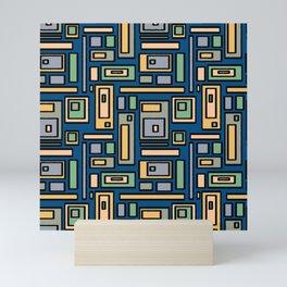 Pattern Feb 2021 - 01.1 Mini Art Print