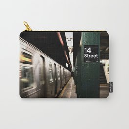Speeding Subway Train Carry-All Pouch