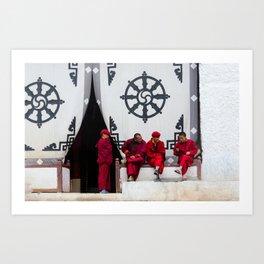 monks Art Print