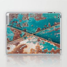 Teal and Rust Laptop & iPad Skin