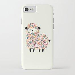 Bubble Sheep iPhone Case