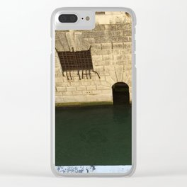 Doge's Palace Prison, Venice, Italy Clear iPhone Case