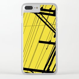 SP wires 3 Clear iPhone Case