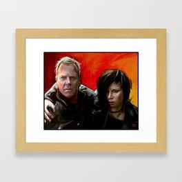 Jack and Chloe Framed Art Print