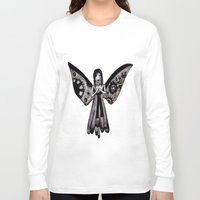 angel Long Sleeve T-shirts featuring Angel by Sara Hazaveh
