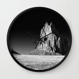 Shiprock - Desert Southwest - New Mexico Wall Clock