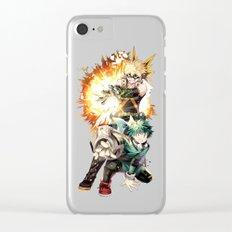 Boku No Hero Academia 1 Clear iPhone Case