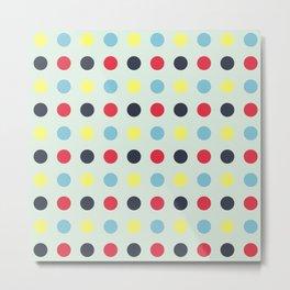 Ara Tiotio - Colorful Abstract Doted Art Metal Print