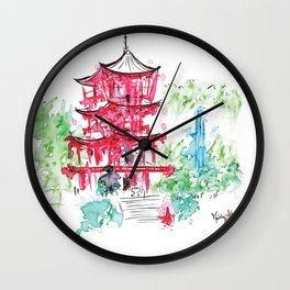 Moment Suspended Wall Clock