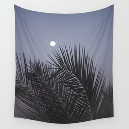 Moonrise over Los Angeles Wall Tapestry